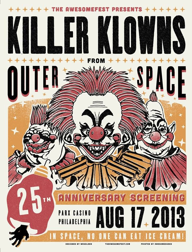 Killer klowns from outer space popcorn celluloid for Killer klowns 2