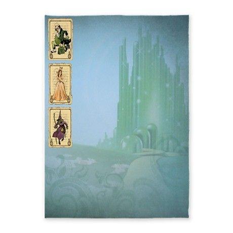 Emerald City 5x7Area Rug