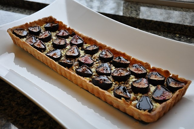 Fig and Goat Cheese Tart | Meat is a four letter word | Pinterest