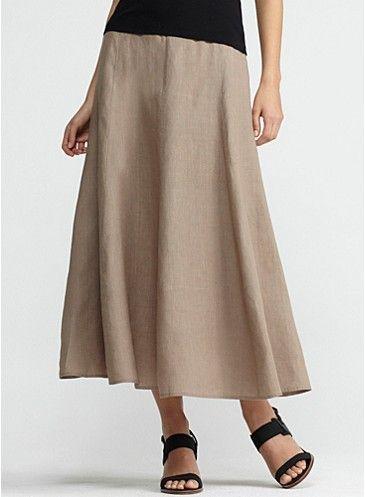 linen a line skirt fantastic clothes