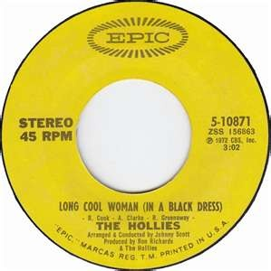 Long Cool Womanblack Dress Lyrics on Long Cool Woman In A Black Dress By The       I Remember That One