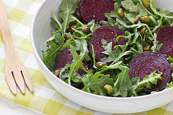 pleasantly sweet and earthy roasted beets with edamame amp arugula ...
