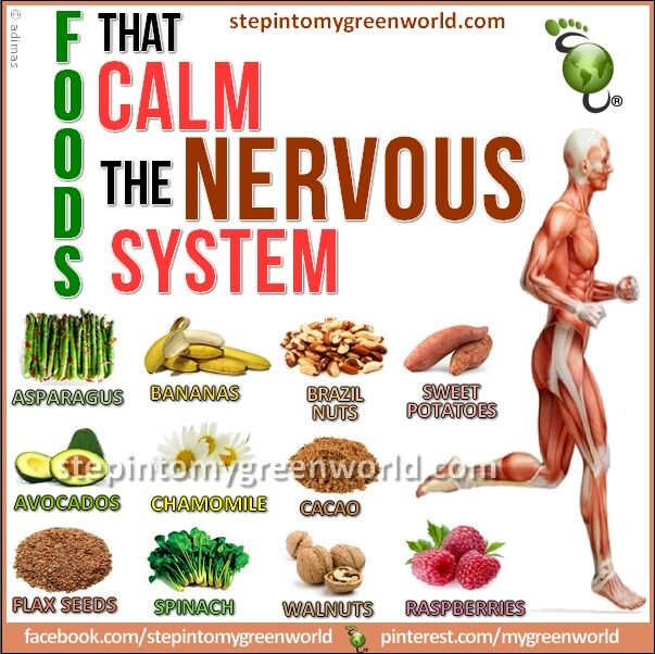 Calming Foods For The Nervous System