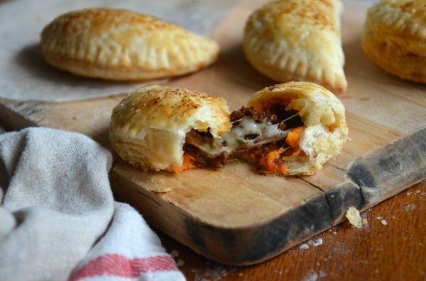 Sweet Potato & Chorizo Hand Pies | mountainmamacooks.com