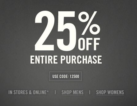 Abercrombie 25 Off Coupon Printable