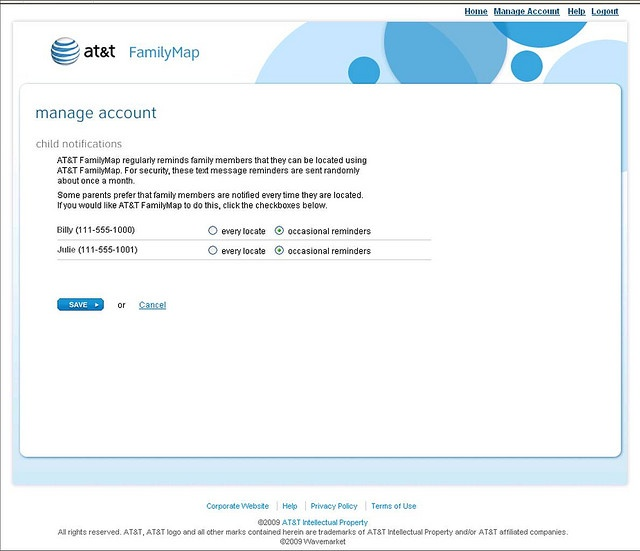 tracking cell phone at&t