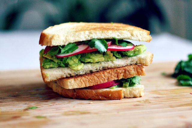 bird & cleaver: grilled avocado sandwich