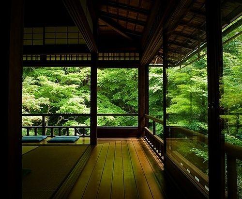 zen sanctuary, kyoto, japan