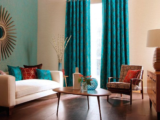 Cortinas para las salas modernas dise o interior pinterest for Decoracion cortinas modernas