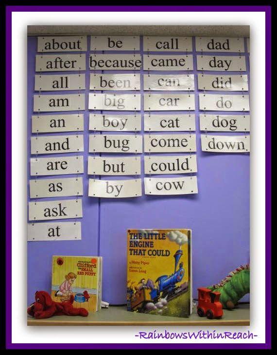 Word wall | Kids.....Pre-K | Pinterest