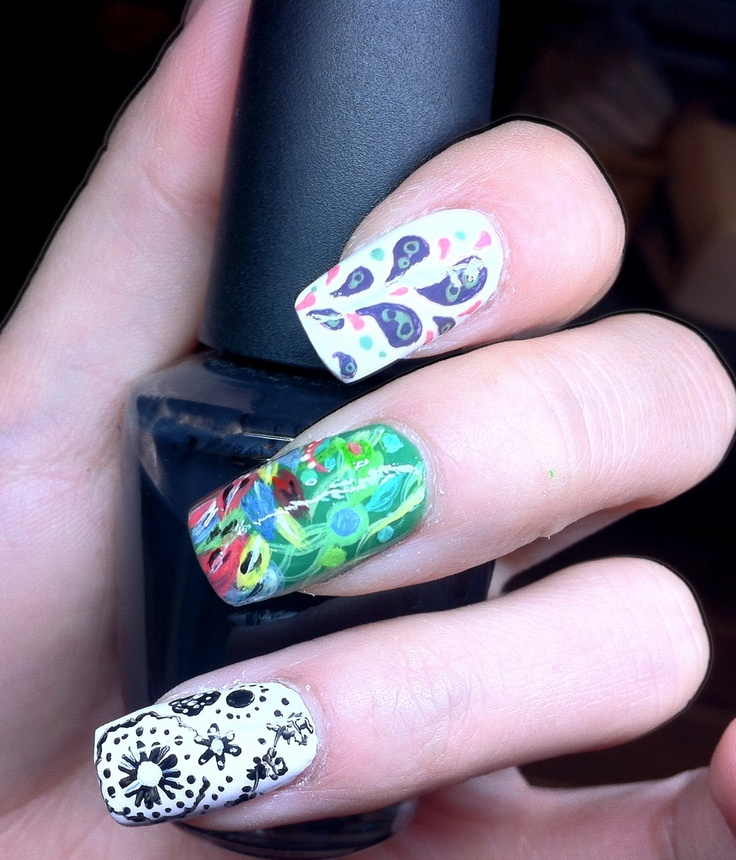 Nail art with Shellac | Shellac | Pinterest