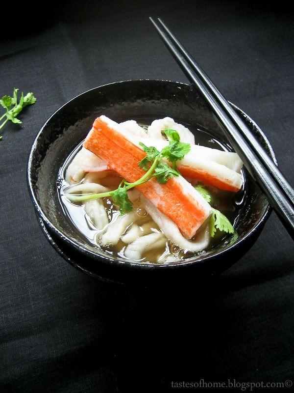 Homemade Udon Noodles in Dashi | Noodle | Pinterest