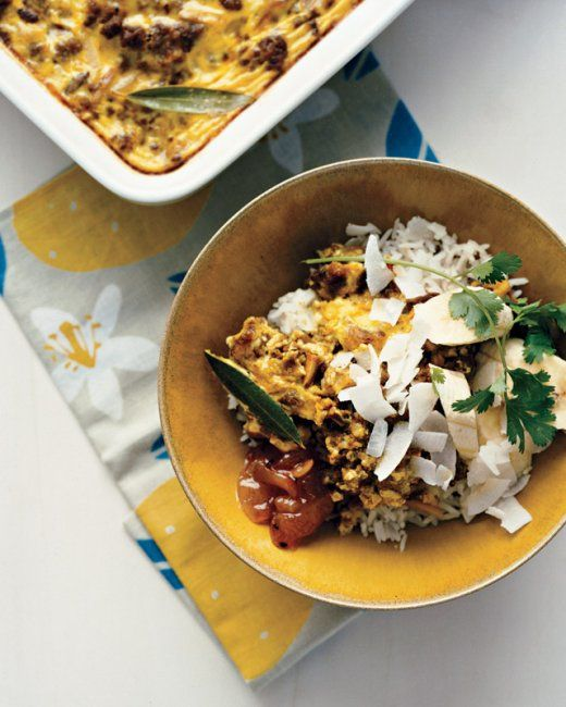 Mild Curried Lamb Casserole with Almonds | CityLifeGroup Meals | Pint ...
