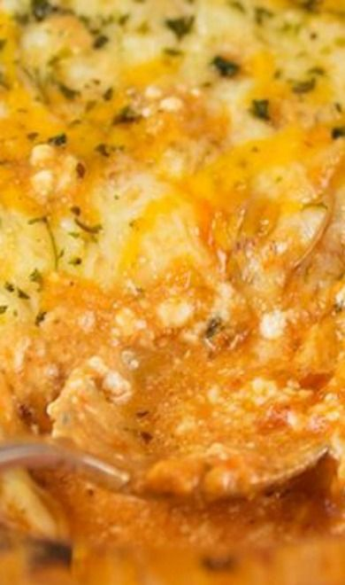 Four-Cheese Lasagne Recipe — Dishmaps