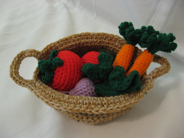 Crochet Patterns Vegetables Free : Pin by ~ Chantale ~ on Crochet ~amigurumi~ Pinterest