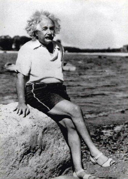 Check out Albert Einstein