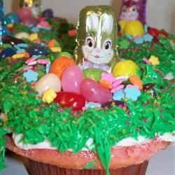 Easter Surprise Cupcakes Allrecipes.com | GREAT FOR HOLIDAYS | Pinter ...