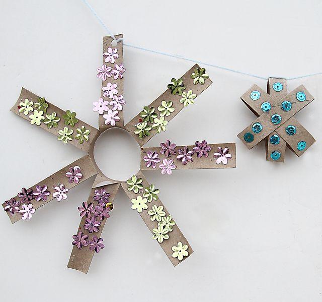 Decorating Ideas > Recycled Tp Tubes  Preschool Ideas  Pinterest ~ 043503_Christmas Decoration Ideas Using Toilet Paper Rolls