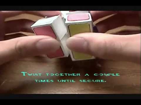 How to make a paper 2x2 rubiks cube