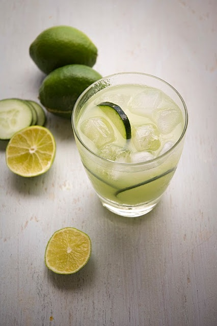 cucumber gimlet | RefreshMEnts | Pinterest