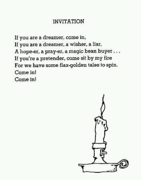 Shel Silverstein Invitation was awesome invitations sample