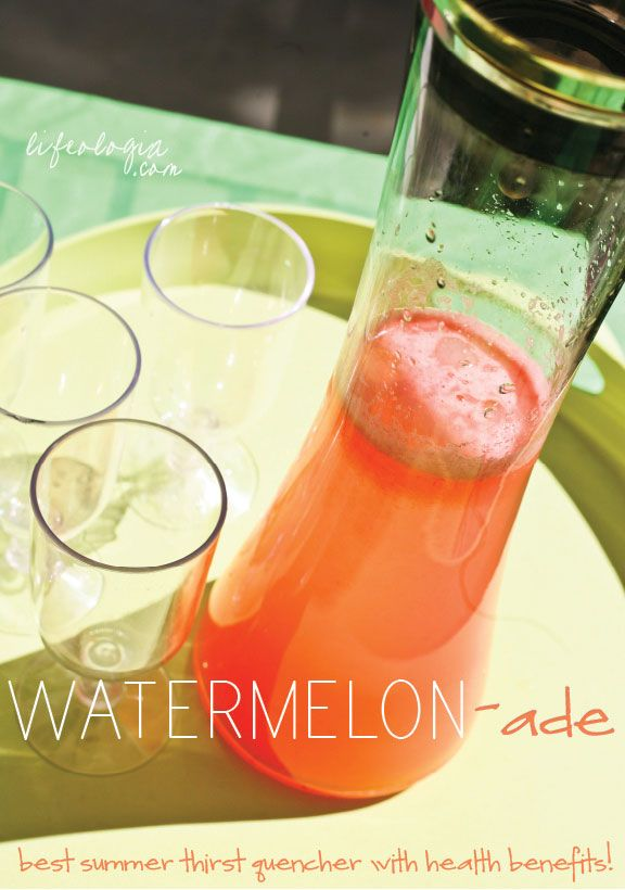 lifeologia-watermelonade | Drinks | Pinterest