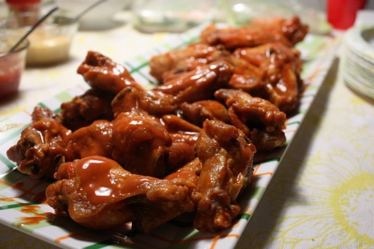Basic Buffalo Wings Recipe | Appetizers | Pinterest