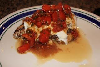 Balsamic grilled bruschetta chicken | FOODJUNKIE 3 | Pinterest