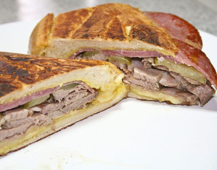 Love Cubans! Ham, Roasted Cuban POork, Genoa Salami, Swiss, Dill ...