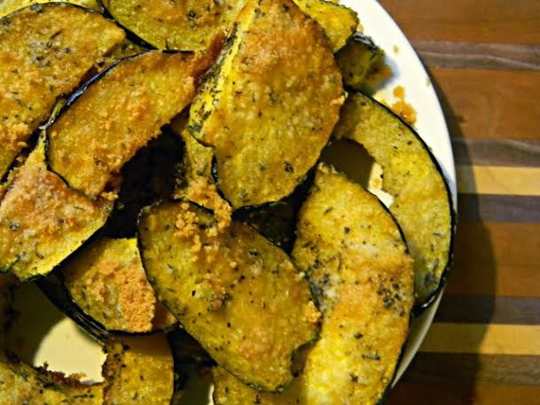 Parmesan & Thyme Roasted Acorn Squash | + Food & Drink | Pinterest