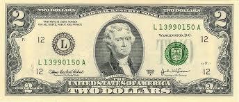 $0 bill  US $2 00 Bill |