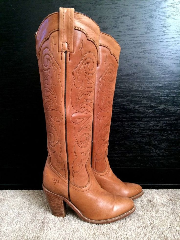 Original Soda Women Cowgirl Cowboy Western Stitched Boots Pointy Toe Knee High