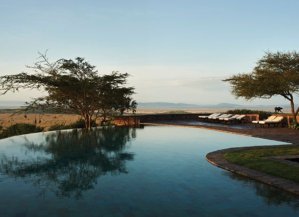 Cool down and relax at the Singita Sasakwa Lodge in Tanzania #OrganicSpaMagazine