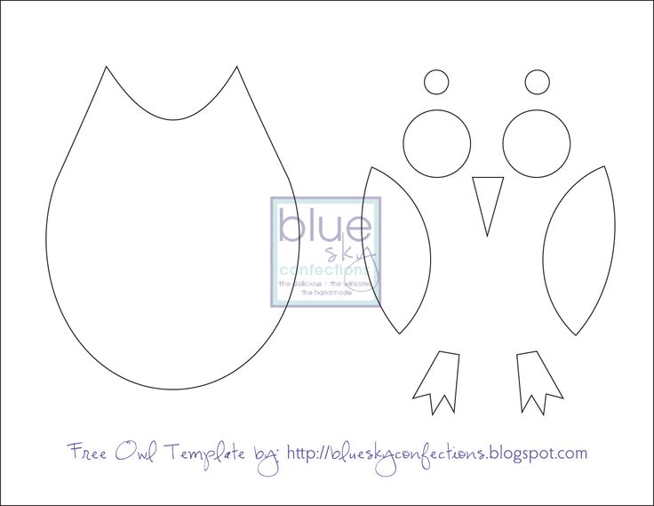 Free Owl Template Owl Pattern Printables Free