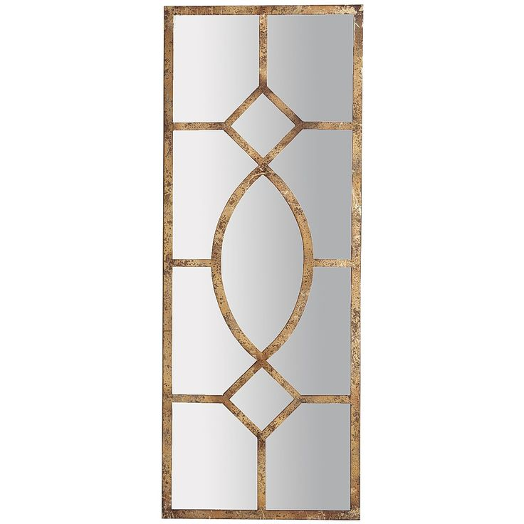 Decorative Wall Mirror Panels : Antiqued mirror wall panel family room
