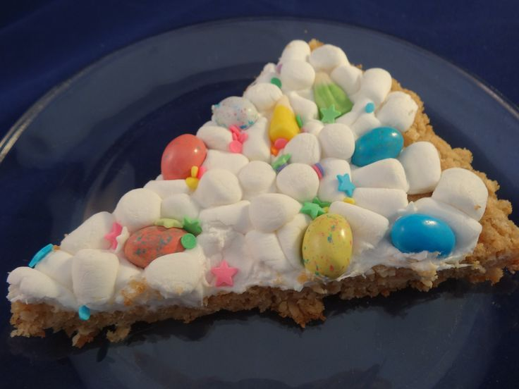 Easter Cookie Pizza- with yoyomax12 | Yoyomax12 | Pinterest