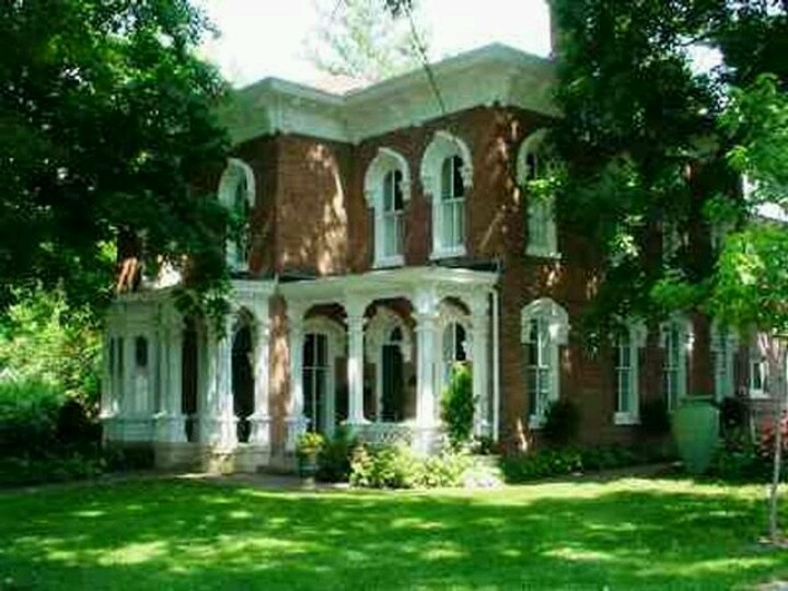 1867 italianate brick home 1800 houses pinterest for Italianate homes for sale