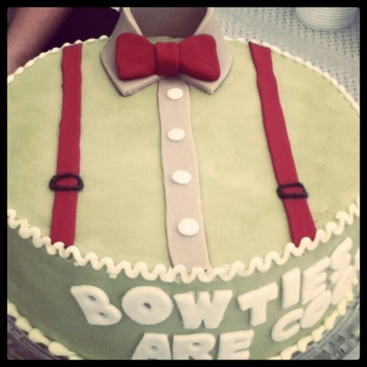 bow tie cake onedirection grooms cakes