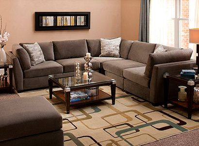 Sloane Microfiber Living Room Collection My Raymour Flanigan Drea
