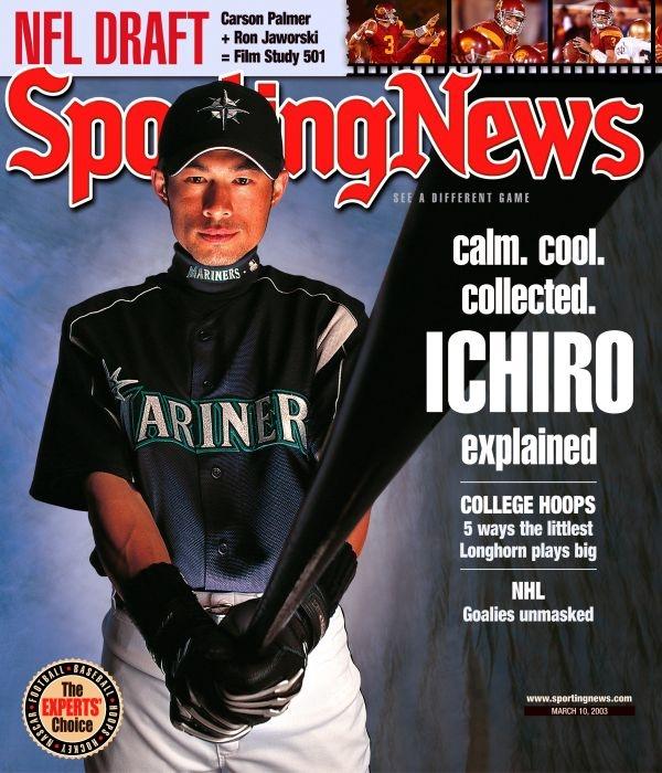 Ichiro, Sporting News (2003) #Mariners