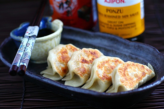 Gyoza/Japanese Pan-fried Dumplings Recipe
