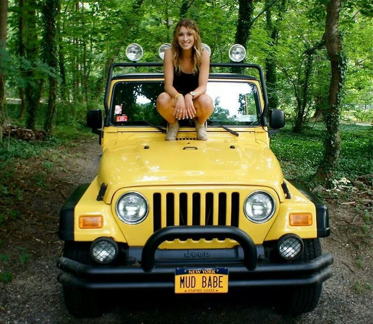 Mud Babe Jeep Girl Jeep Girls Pinterest