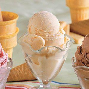 20 Best Recipes for Homemade Ice Cream | No-Cook Peach Ice Cream | SouthernLiving.com