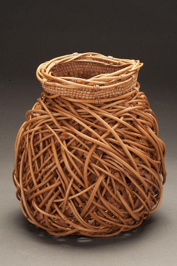 Woven Basket Art : Jennifer heller zurick weave