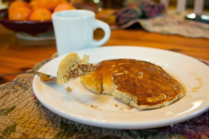 Whole grain pancakes | Breakfasts | Pinterest