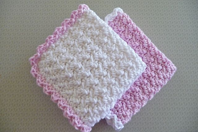 Crochet Washcloth Pattern : Pin by Pamela Henckel Hunter on Crocheting is fun Pinterest