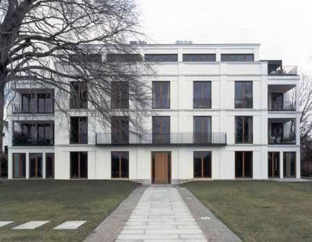 Modern Classical Architecture The Schone Aussicht House By Kahlfeldt