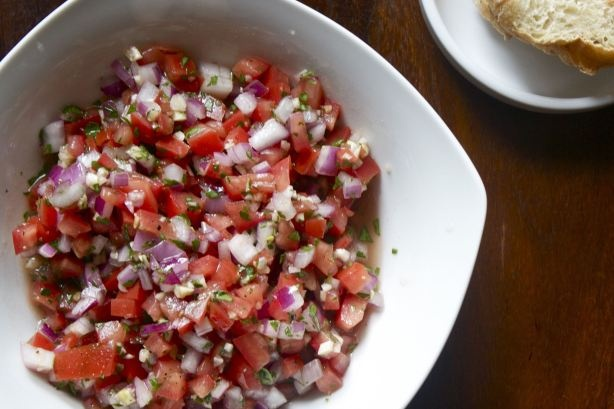 Fresh Salsa with Sriracha | Recipe