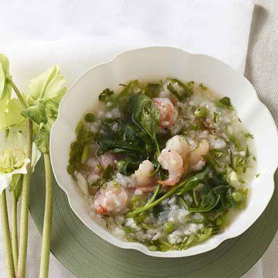 Shrimp, Pea, and Rice Stew | Recipe