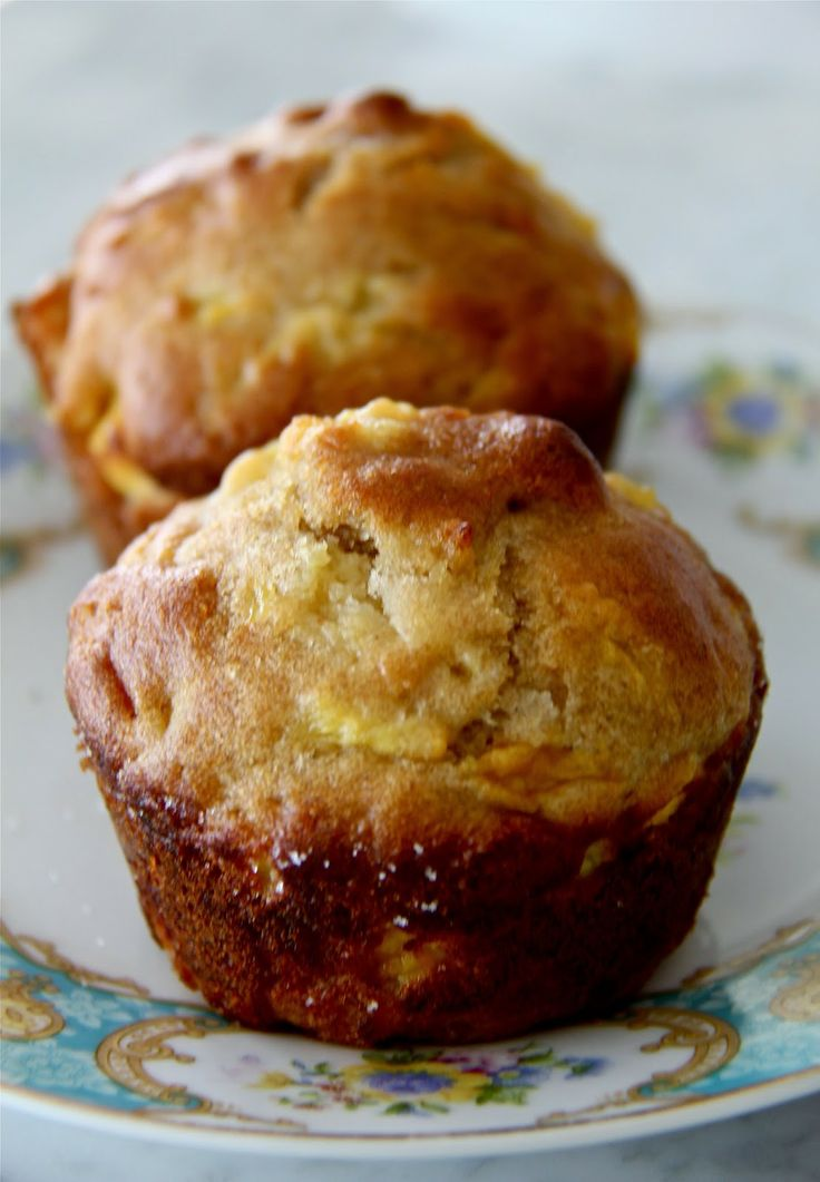 Bountiful Kitchen: Pineapple Mango Breakfast Muffins perfect for ...